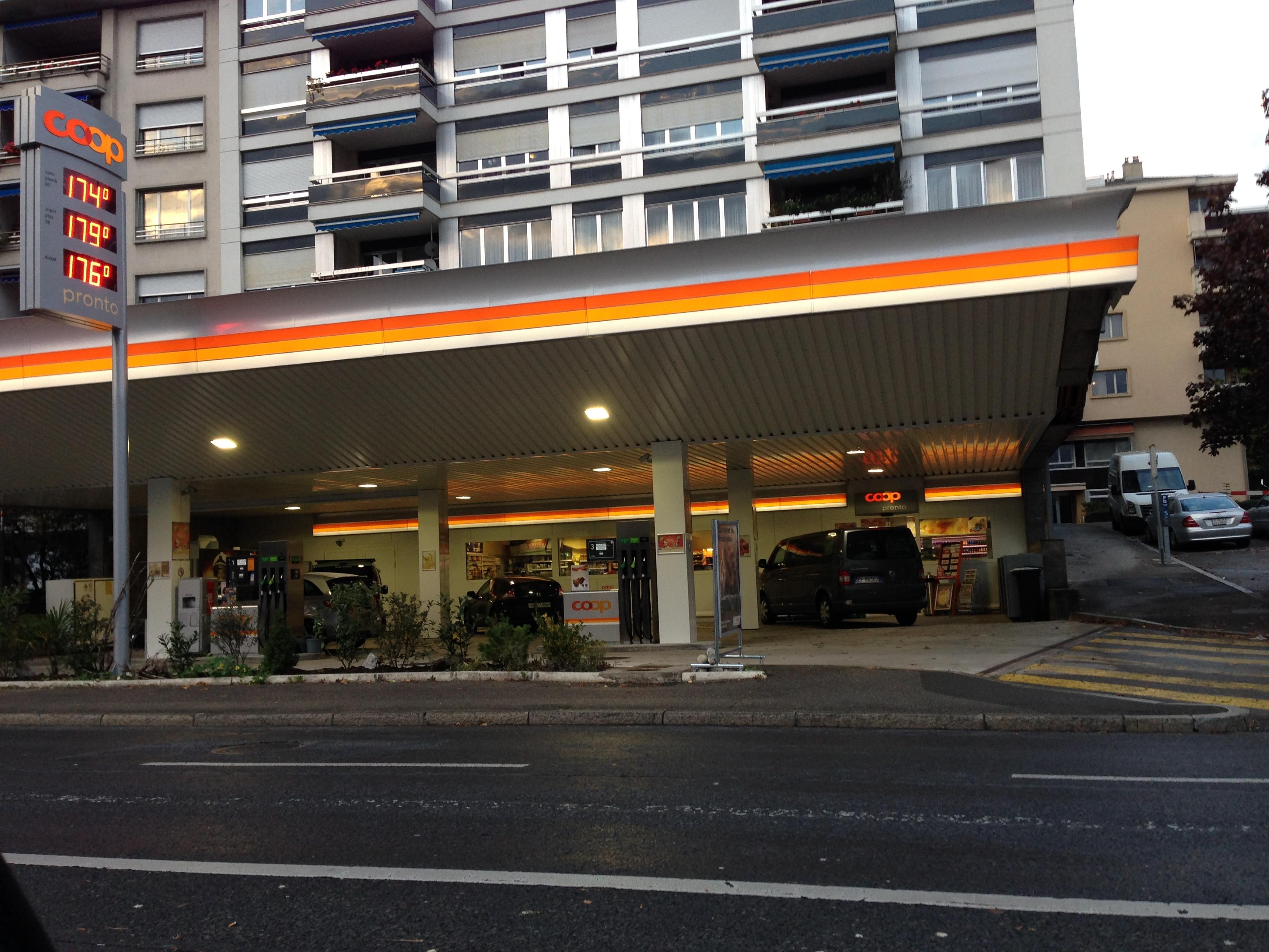 gas station | Passports & Postcards